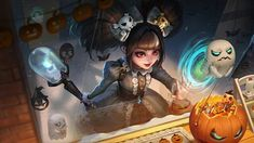 Hero Wallpapers Hd, Cute Cartoon Wallpapers, Skin Halloween, Bat Flying, The Legend Of Heroes, Haunted Dolls, Mobile Legend Wallpaper, Mobile Legends, New Skin