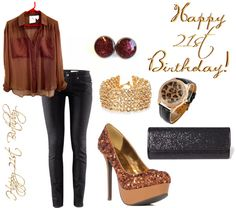 """21st Birthday Outfit Choice #2"" by sylviaannthompson on Polyvore"