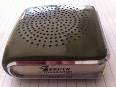 Zephyr 7 Transistor Pocket Radio Vintage | eBay