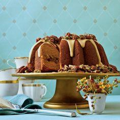 Fall Cake Recipes: Cranberry-Apple-Pumpkin Bundt