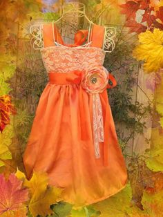 In many colors Orangecream satin and lace by cookiesandcostumes, $75.00