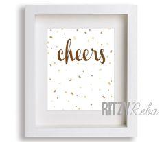 New Year's Eve Cheers print
