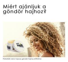 Miért jó választás és mihez való az AFROline POMADE natúr hajwax? AFROline POMADE natúr hajwax. Olaj bázisú hajápoló pomade, sheavajjal, argánolajjal, barackmag olajjal, méhviasszal. Miért ezekkel az összetevőkkel, miért ilyen állagban, miért ezzel az illattal készült? Mert benne van a hajfonás, hajhosszabbítás, az afro frizura, a göndör egyenes és hullámos póthajakkal szerzett 20 éves tapasztalatunk!