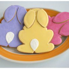 easter cookies ~ I luv these, however I know mine would never look this good =)