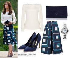 Kate's Closet on Twitter: Duchess of Cambridge in Goat and Banana Republic for launch of Heads Together, May 16, 2016