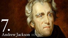 Andrew Jackson U. President - More nearly than any of his predecessors, Andrew Jackson was elected by popular vote; as President he sought to act as the direct representative of the common man. American Presidents, Presidents Day, American Soldiers, Black Presidents, Andrew Jackson, Us History, American History, History Articles, British History