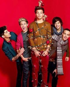One Direction Christmas Photoshoot One Direction Christmas PhotoshootYou can find One direction wallpaper and more on our website.One Direction Christmas Photoshoot One.