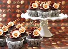Chocolate Mud cupcakes | Flickr - Photo Sharing!