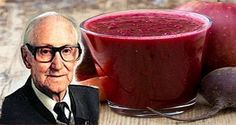 Rudolf Brojs from Austria has dedicated his whole life to finding the best natural cure for cancer.    He actually made a special juice that gives excellent results for treating cancer. He has cured more than 45,