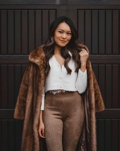 """When we get to a point where we can encourage and support each other instead of """"competing"""" against one other—I think that's incredible. One And Other, Personal Style, Fur Coat, The Incredibles, My Style, Jackets, Fashion, Down Jackets, Moda"""