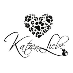 Wandtattoo Katzen Liebe - Bild 3