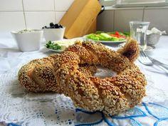 Mijn mixed kitchen: Simit (Turkse bagels / Turkse sesamringen)