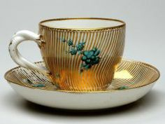 Cup and Saucer UNKNOWN ENGLISH (ENGLISH) 1770-1784
