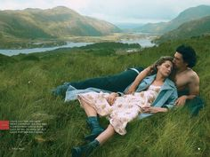 Wild Irish Rose:  #AnnieLeibovitz for #VogueUS September 2013  (I love this as my name is Rose.)