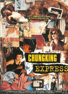 """Chungking Express (1994). Pelicula que hace famoso a Wong Kar Wai a nivel internacional,filmada en dos semanas, durante un tiempo de oscio despues del rodaje de su otra pelicula, """"Ashes Of Time"""". Sin la infaltable participación del cinematógrafo Christopher Doyle presente en sus proximos exitos como """"Animo de amar"""" y """"2046"""". Quentin Tarantino la presenta al mundo."""
