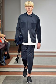 Paula Gerbase presented her Fall/Winter 2016 collection for 1205, during London Collections Men.
