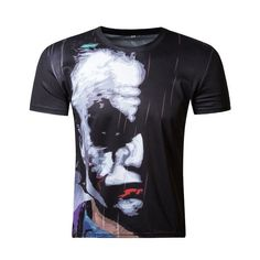 Marvel Super Heroes T-shirt Captain America Civil War Black Panther T'Challa Cosplay 3D Print T shirt Quick drying Tops Tees