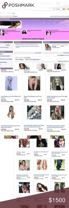 **20%-70% Grand Opening Ebay Store** http://stores.ebay.com/ExoticGoddessBeauty  Please follow, add, and support my Ebay store, wigs are 20-70% off, adding nee dtyles and wigs too!!! Accessories Hair Accessories