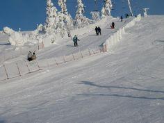 February #skiing at #Levi #Lapland #Finland .  Saariselkä activities http://www.saariselka.com/individual/activities