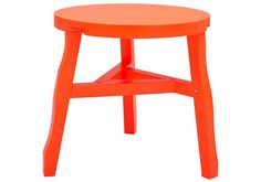 Offcut Side Table Fluoro