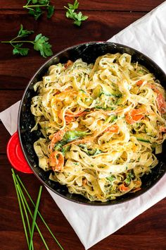 Fettuccine with Lemon, Ricotta, and Zucchini