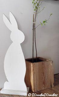 wooden wonders by Ania: Zające.
