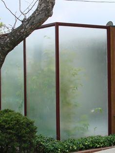 außen architektur ideen garten zaun metall figuren modern, Garten ideen gestaltung