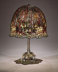Lamp, 1904–15 Louis Comfort Tiffany (American, 1848–1933); Tiffany Studios Leaded Favrile glass, bronze