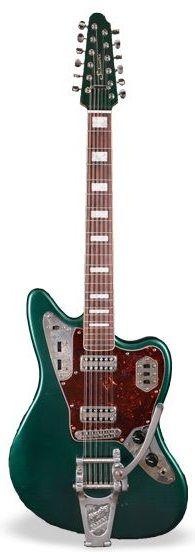 Schwarz Custom Guitars & Basses Serene 12str w Bigsby