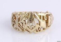 Masonic symbol ring