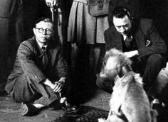Sartre, Albert Camus and a dog. Barricades and norms fall off when great minds meet.
