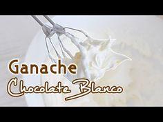 Ganache de chocolate blanco Postres Mil - YouTube