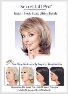 Secret Lift Pro Instant Neck and Jaw Lift Facelift Tapes and Bands | Health & Beauty, Skin Care, Anti-Aging Products | eBay!