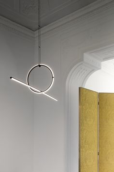 Designer Michael Anastassiades talks to AD about his new modular lighting collection unveiled in collaboration with Flos at Salone del Mobile 2018 Suspended Lighting, Pendant Lighting, Track Lighting, Chandelier, Interior Lighting, Modern Lighting, Lighting Design, Lighting Ideas, Blitz Design