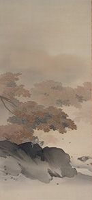 菱田春草 Shunso Hishida『秋渓』(1900)飯田市美術館蔵