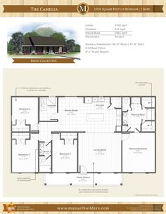 Pleasing Custom Cantrell Floor Plan Manuel Builders Interiors Inspirational Interior Design Netriciaus