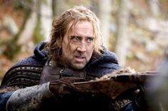 Nicolas Cage was Originally Offered the Part of Aragorn in Lord of the Rings Nicolas Cage, Barbarians Rising, Jefferson Hall, Animal Kingdom Tnt, Jake Weary, Mall, Old Hollywood Movies, Season Of The Witch, History Channel