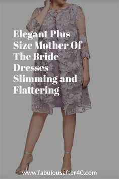 Flattering plus size dresses for the mother of the bride or groom. #motherofbride #motherofgroom #weddingstyle #dressover40 Fashion Over 40, Women's Fashion, Flattering Plus Size Dresses, Dressing Your Body Type, Dress Body Type, What To Wear To A Wedding, Groom Dress, Chic Dress, Simply Beautiful