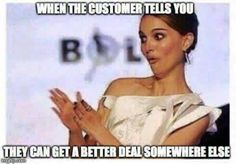 10 Hilarious Sales Memes That Every Salesperson Will Understand Retro Humor, Blunt Cards, Cashier Problems, Retail Problems, Girl Problems, Server Life, Funny Quotes, Funny Memes, Hilarious Work Memes