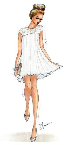 @Camilla Lund Lund Sentuti (Glamgerous) #illustrator#sketch