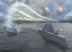 This is what would happen if the USS Zumwalt Monday vs Battleship: who wins? Let us not tarry on the question of how the 2020 edition of USS Zumwalt would en. Go Navy, Royal Navy, Uss Zumwalt, Chief Of Naval Operations, Military Coup, Military Art, Nova, United States Navy, Navy Ships