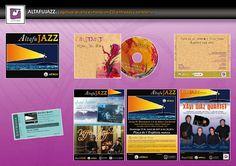 IDENTIDAD CORPORATIVA LA MAMBA NEGRA.  Altafujazz,ciclo de jazz permanente.  Naming, identidad corporativa, carteles, cd y entradas.  Álbumes web de Picasa.  CONTACTO:  977 65 23 48 - 660 051 068  lamambanegraltafulla@gmail.com  C/ Marqués de Tamarit, 3C  43893 - Altafulla - Tarragona - España