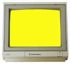 test-commodore-amiga-pantalla-amarillo