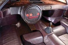 Lancia Sibilo interior by Marcello Gandini, Bertone 1978