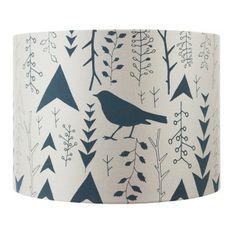 Woodland Lampshade 30cm Grey/Beige
