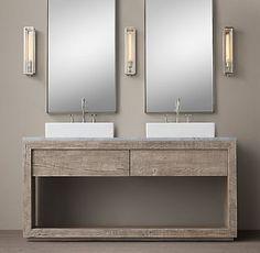 Vanities & Sinks | Restoration Hardware Gg bath vanity
