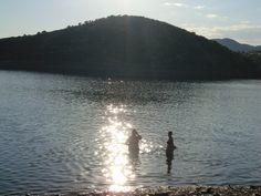 Una playa de interior... como tantas en Andalucía