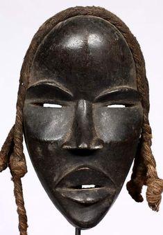 african dan masks by audrey African Theme, African Masks, Arte Tribal, Tribal Art, Statues, Ceramic Mask, African Artwork, Atelier D Art, African Sculptures
