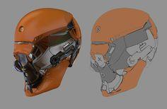 helmets, Fuad Quaderi on ArtStation at https://www.artstation.com/artwork/gGldE