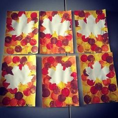 50 idées d'activités autour de l'Automne - Le Carnet d'Emma Fall Arts And Crafts, Easy Fall Crafts, Fall Crafts For Kids, Toddler Crafts, Art For Kids, Kids Crafts, Autumn Art, Autumn Theme, Autumn Leaves